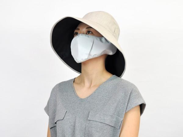 wideマスク+hat